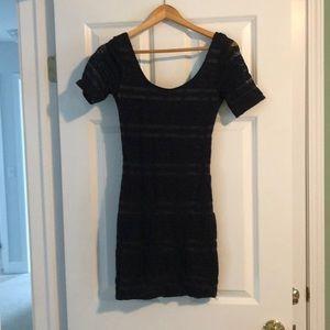 Abercrombie lace bodycon dress